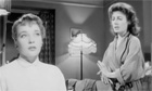 Sylvia Syms and Yvonne Mitchell in Woman in a Dressing Gown