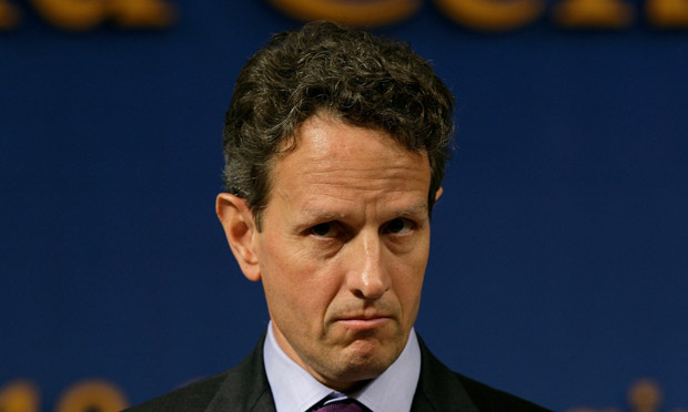 US Treasury secretary Tim Geithner