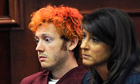 James Holmes in court last week