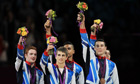 GB gymnastics team