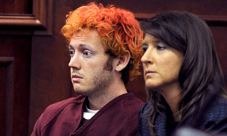 James Holmes at first court appearance