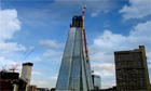 The Shard in the process of being built