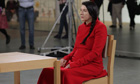 Still from Marina Abramović: The Artist Is Present