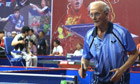 Les D'Arcy in a still from Ping Pong