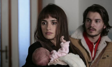 Penelope Cruz and Emile Hirsch in Twice Born