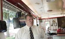 Freeport mayor George Gaulrapp
