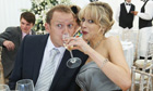 Robert Webb and Lucy Punch in The Wedding Video