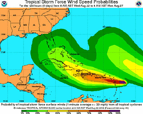 Watching tropical storm Isaac: what does it mean for the RNC ...