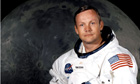 Neil Armstrong in space suit