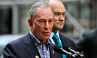 Michael Bloomberg and Ray Kelly on Friday
