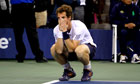 Andy Murray reacts to winning US Open