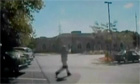 CCTV shows policeman at Sikh temple shooting