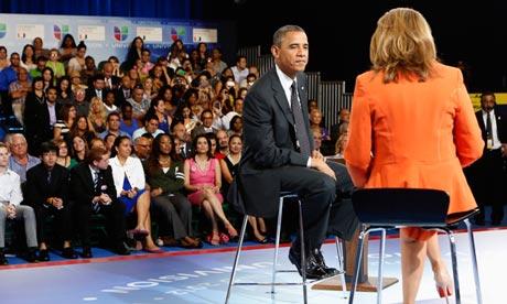 Barack Obama on Univision