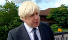 Boris Johnson speaks about Andrew Mitchell row