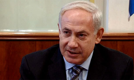 The Israeli prime minister, Binyamin Netanyahu