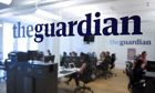 The Guardian office in New York