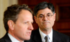 Tim Geither has handed the baton to Jacob Lew