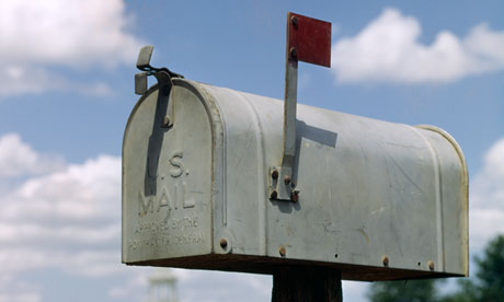 US Postal Service, rural mail box