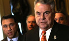 New York congressmen Peter King and Michael King