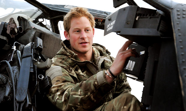 prince harry army