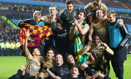 Bradford's Phil Parkinson says reaching Capital One Cup final is 'a dream' — video