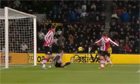 PSV Eindhoven miss three chances in a row from two yards — video