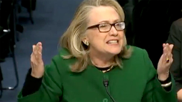 Benghazi hearings hillary clinton issues forceful defence us news