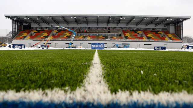 Aviva Co Uk Activate >> Saracens FC unveil new artificial pitch - video   Sport   The Guardian