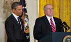 John Brennan with Barack Obama