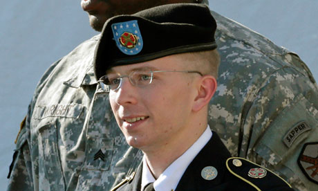 Even a military judge recognizes what many progressives denied: Bradley Manning was mistreated | Glenn Greenwald | Opinion | The Guardian - Bradley-Manning-010