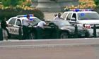 US Capitol Police surround a car