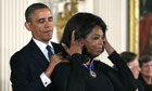 President Obama Awards Presidential Medal Of Freedom to Oprah winfrey