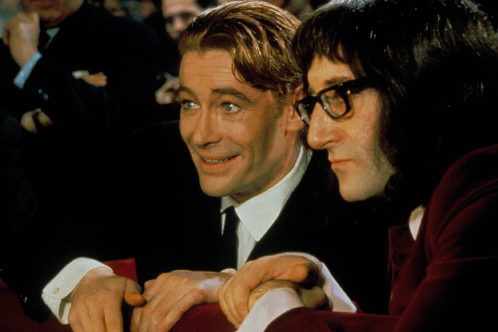 Peter O'Toole in What's New Pussycat?