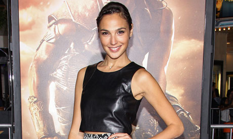 Gal Gadot, who has been cast as Wonder Woman
