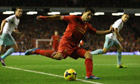 Liverpool 4-1 West Ham: Brendan Rodgers on Premier League win and Luis Suárez – video