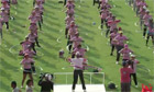 Hula hoop dancing group spin into the record books in Thailand - video