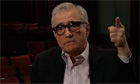 Martin Scorsese in a still from the documentary Side-by-Side: The Death of Film?