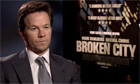 Mark Wahlberg talks about Broken City