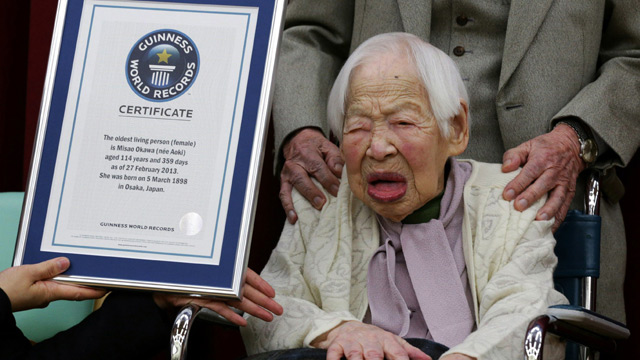 World Oldest Cunt