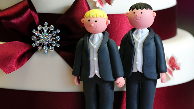 Gay marriage 012 Their stance was simple: relationships are for everybody, whether gay, ...