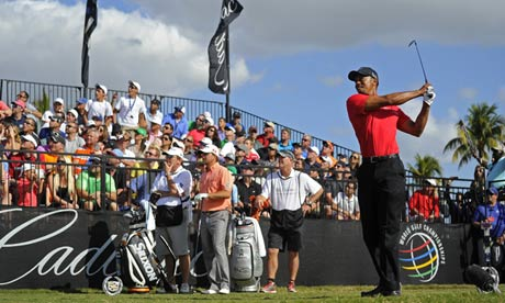 Tiger Woods 'feels good' after winning WGC-Cadillac Championship - video