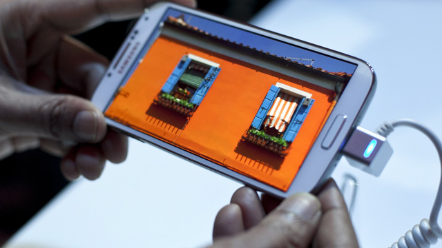 Samsung Galaxy S4 unveiled in New York - video
