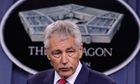 Chuck Hagel at the Pentagon