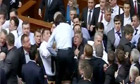 Fist fight breaks out in Ukrainian parliament 