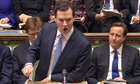 George Osborne delivers his 2013 budget to the House of Commons