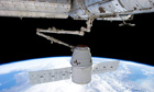 SpaceX Dragon capsule returns back to earth