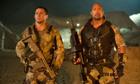 Channing Tatum and Dwayne Johnson in GI: Retaliation