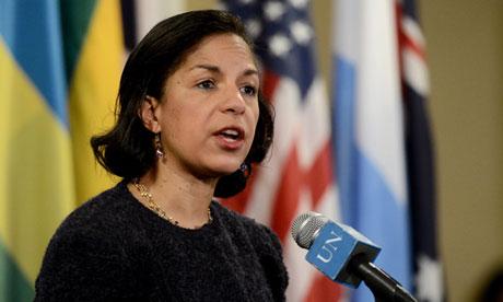 Susan Rice, US ambassador to the UN