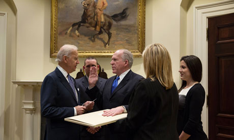 John Brennan sworn in as CIA director