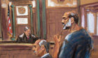 Suleiman Abu Ghaith in court in New York